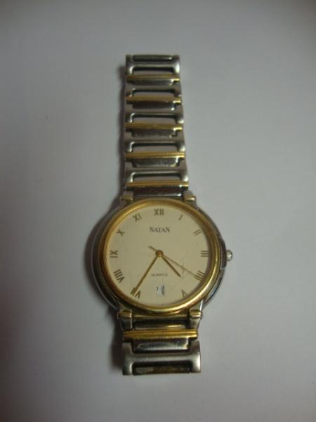 7741ea22e30 NATAN - Elegante relógio masculino com caixa e pulseira em aço com detalhes  em .