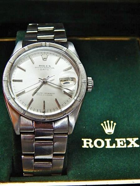 96dc50ff118 Relógio Rolex masculino em aço