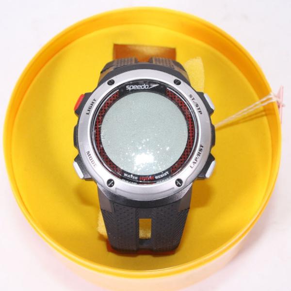 8448b3651f0 Relógio `Speedo` com pulseira de borracha. Na caixa. Novo e sem uso.
