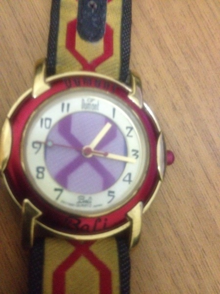 9920e72c7df Relógio Dumont Bali Quartz Gold Plated 23 K. Pulseira R
