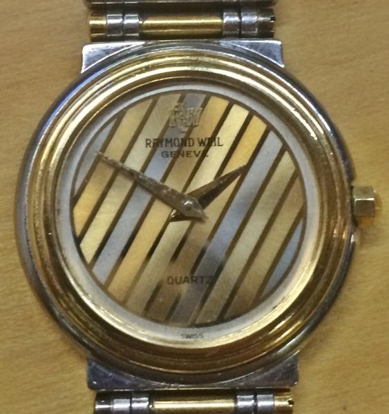 b61bac3ee1a Relógio Raymond Weil