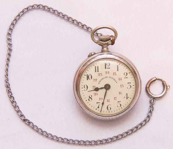 67567161fdd Relógio de bolso. Roskoff