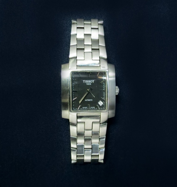 4c4c8dd83a8 Relógio Tissot 1853 modelo L864 - L964 - funcionando - automático - caixa e  .