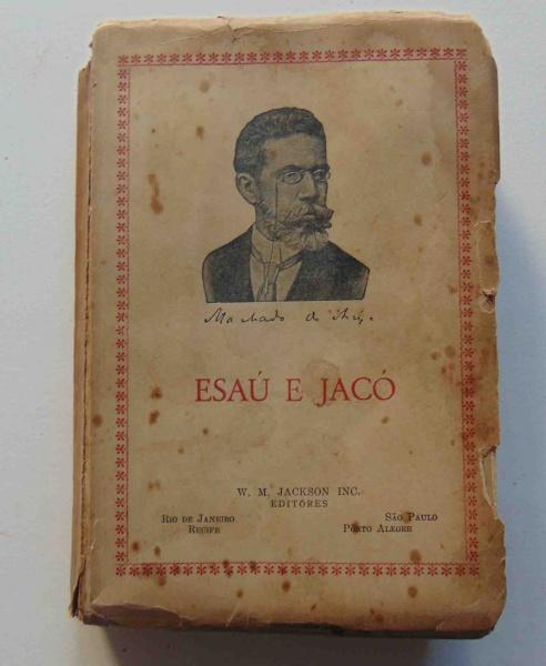 c1ecce596f3 Esaú e Jacó. São Paulo  W. M. Jackson Inc.