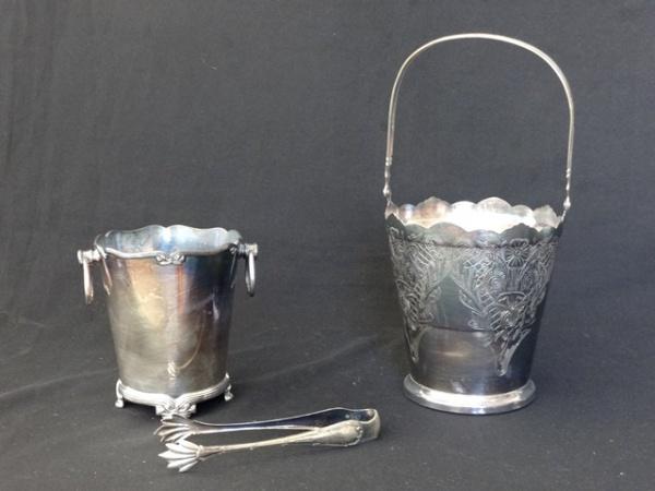 ae587d2da3f Dois baldes espessurados a prata sendo um manufatura