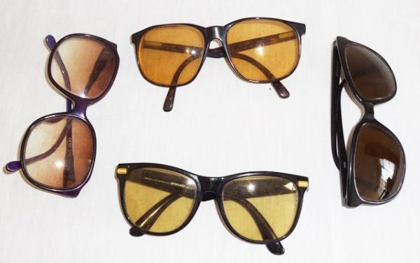 6dc2dac922b Quatro óculos franceses sendo um da marca