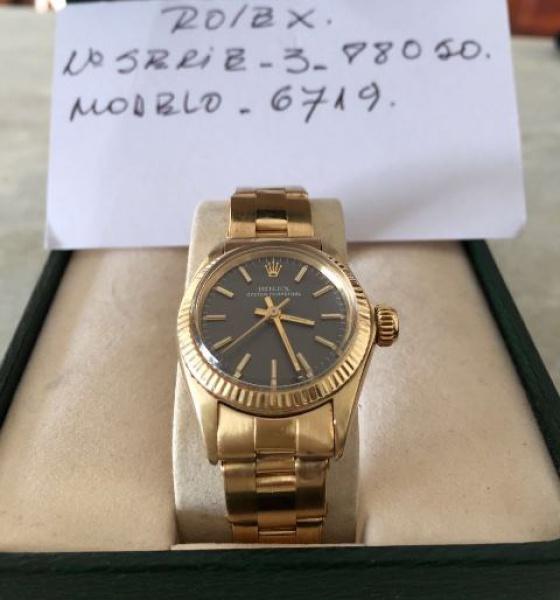 c1141a23133 ROLEX. Relógio suíço feminino de pulso da marca