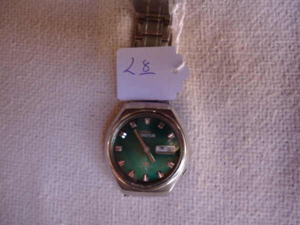 eb56e94183d Relógio Seiko 5 Actus SS 23 rubis antigo japonês. Relógio com riscos de  uso. Funciona bem. Pulseira não é original