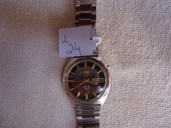 25975dc03ae Relógio Orient automático antigo