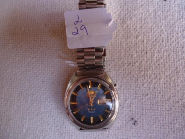 38992235c72 Relógio Orient automático antigo