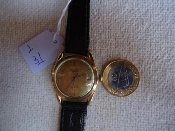 7e63146d772 Relógio a corda miuto antigo porte médio da marca GUDA superautomátic