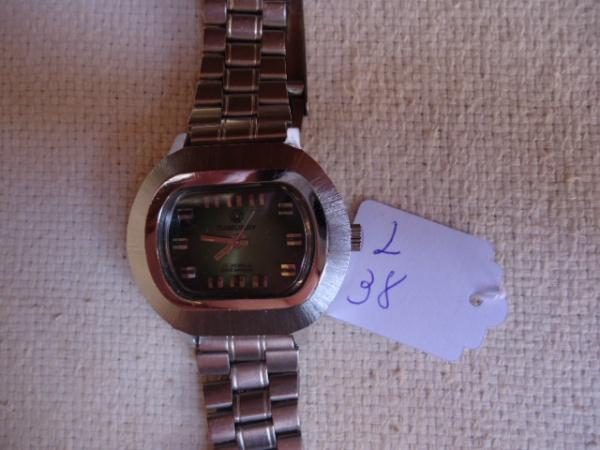 84989fcfe66 Relógio antigo a corda da marca SAMURAY