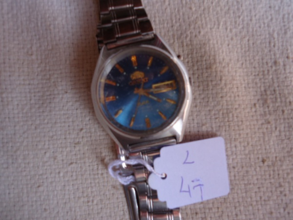 36845c4c843 Relógio Orient antigo automático modelo AAA