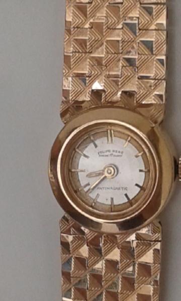 0ba71bf87d9 Relógio de Pulso Feminino - Joia Maravilhosa - Em ouro 18 k (0