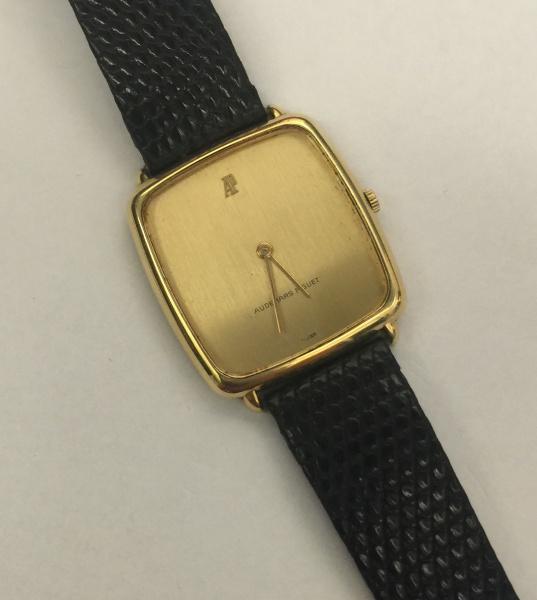 7e2ee6abfd1 AUDEMARS PIGUET - Espetacular relógio de ouro contratado