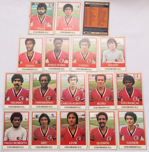 58d0c070b2 Figurinhas. Cards ping-pong. Estimadas peças do futebol brasileiro. Grande  procura