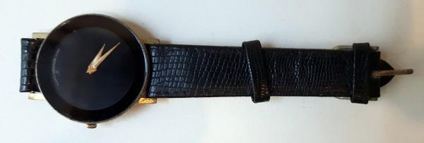 46ae6256d9f Relógio de pulso masculino preto. Necessita reparo.