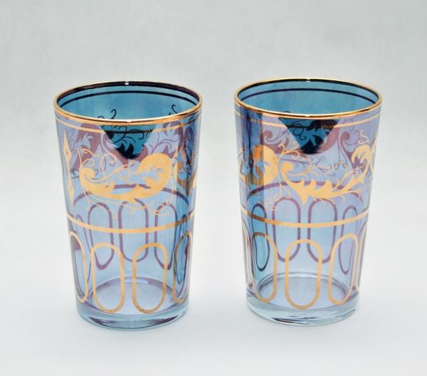 SAINT LOUIS Par de copos em cristal de renomada manufatura francesa na cor . a8d45da22853b