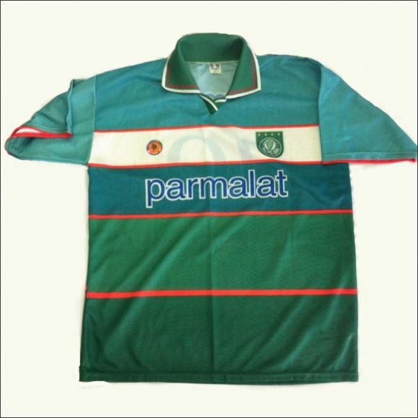 Camisa Palmeiras Parmalat Ano 2000 - Copa dos Campeões 37f871649a297