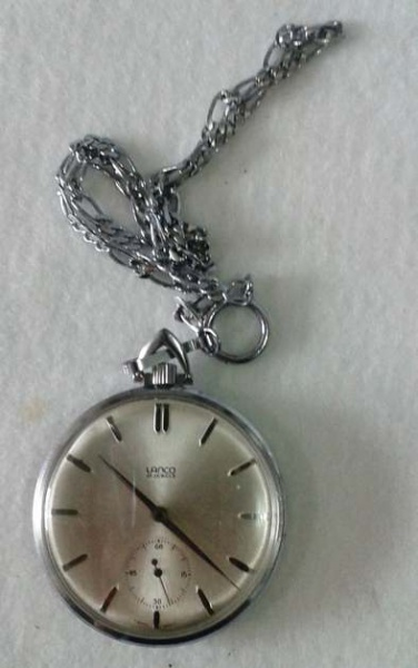 4c69bb2192f Antigo Relógio de bolso a corda marca LANCO 17 JEWELS funcionando.