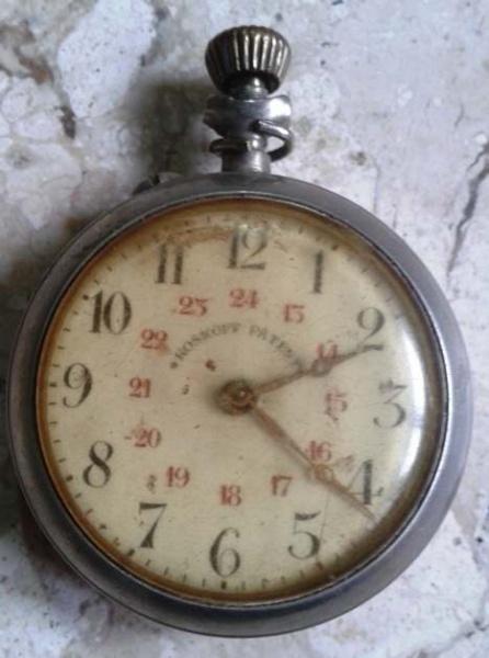 49b68aa6189 Antigo Relógio de bolso a corda marca ROSKOPE . sem a corrente. Precisa  reparo.