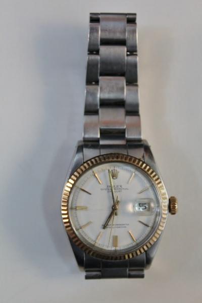 de9c9039392 Majestoso relógio masculino da marca (Rolex oyster perpetual date just ) .