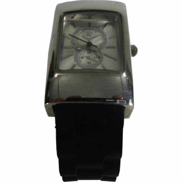 de9e5a5417d Relógio em Nickel Free Marca BT com Pulseira Emborrachada Flexivel. Medida    4 .