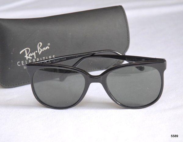 Ray Ban - Vintage - Óculos de Sol Ray Ban Celebrities By Bauch Lomb, Modelo  Bali - Armação Preta e Lentes Esverdeadas. no Estojo Original. 6a71d2301a1f