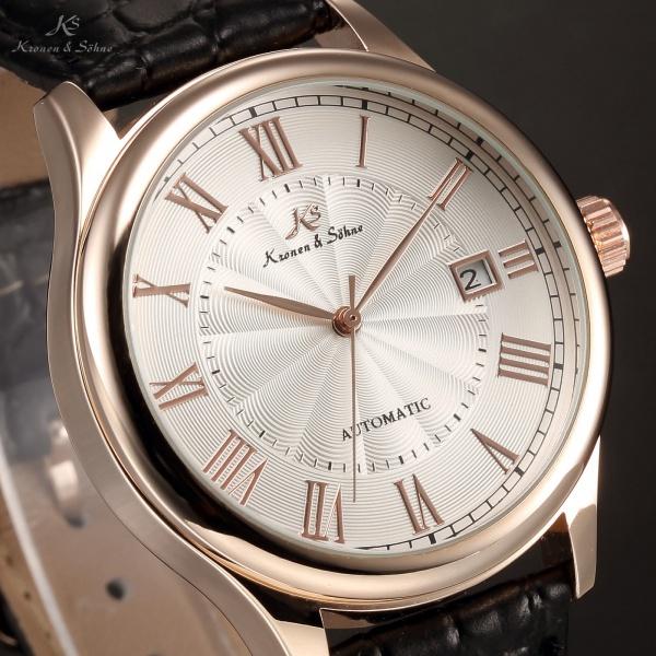 0628af5953d KRONEN   SOHNE - Relógio automático Projetado pelo renomado alemão  Relojoeiro .