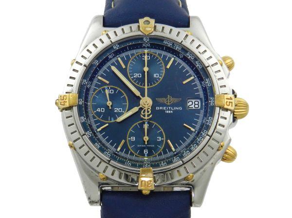 eeab65c3023 Relógio Breitling Chronomat . Caixa em aço e ouro e pul