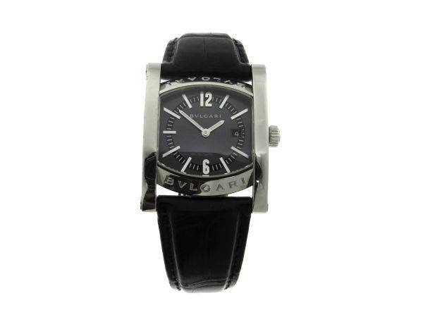 ff336075944 Relógio Bvlgari Bulgari Assioma - Caixa em aço e pulseira em couro -  Tamanho da caixa 30mm - Funções  Horas