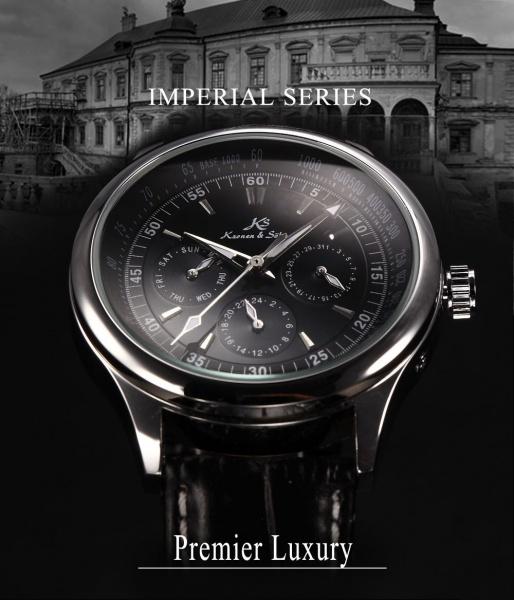 773ef5411b7 Relógio Kronen   Sohne prateado imperial premier luxury ...