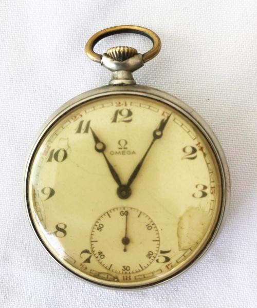 19294238a52 OMEGA - Antigo relógio de algibeira