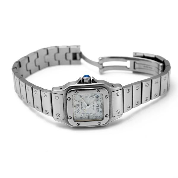 20639b09444 Relógio CARTIER. Modelo 2423. Swiss Made. Vidro de Safira. Mecanismo  Automático