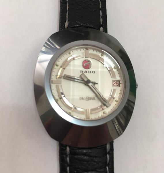 23719bbd3c5 Relógio Rado modelo Diastar (suiço) de tungstênio e aço