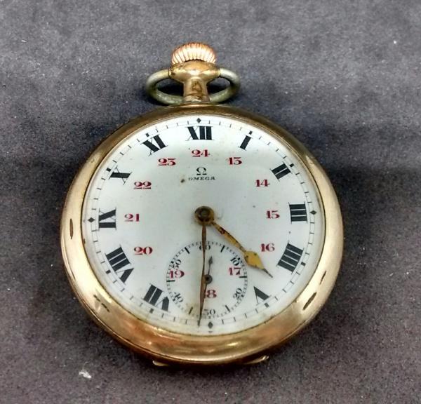 dd28077405c OMEGA - Curiosamente este exemplar de relógio de bolso