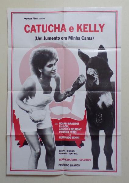 Cartaz de cinema- poster do filme `Um jumento em minha