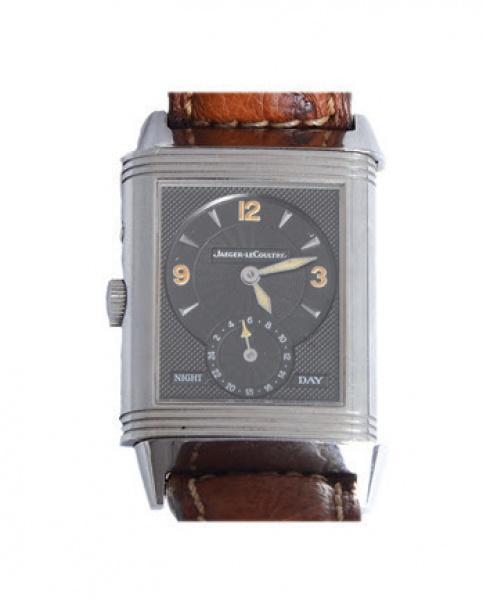 9e8854bd159 Jaeger LeCoultre - reverso Night   Day. Relógio de pulso com caixa  reversível.