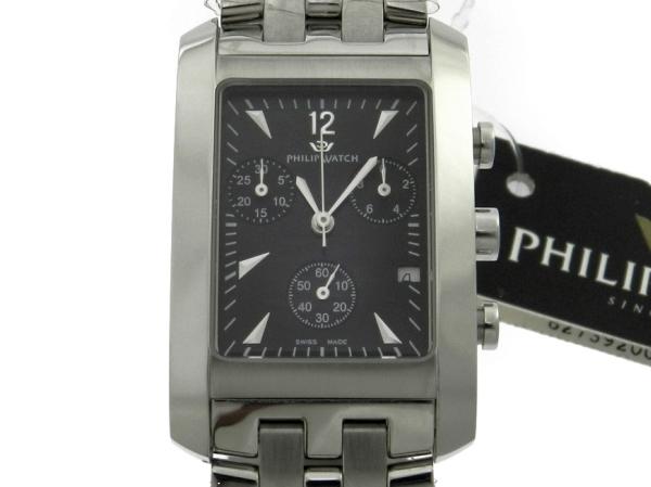 6aa77d89c32 Relógio Philip Watch Cronógrafo - Caixa e pulseira em aço - Tamanho da  caixa 27
