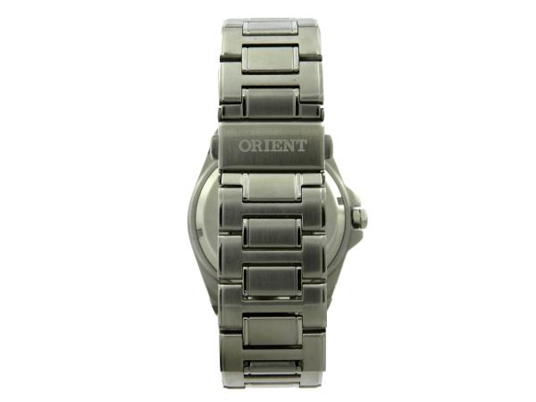 d6ac8713c37 Relógio Orient Submarino 50m - Caixa e pulseira em aço - Tamanho da caixa  45mm - Funções  Horas