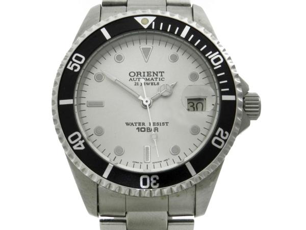 ceeb3dbfff4 Relógio Orient Submarino Automatic - Caixa e pulseira em aço - Tamanho da  caixa .