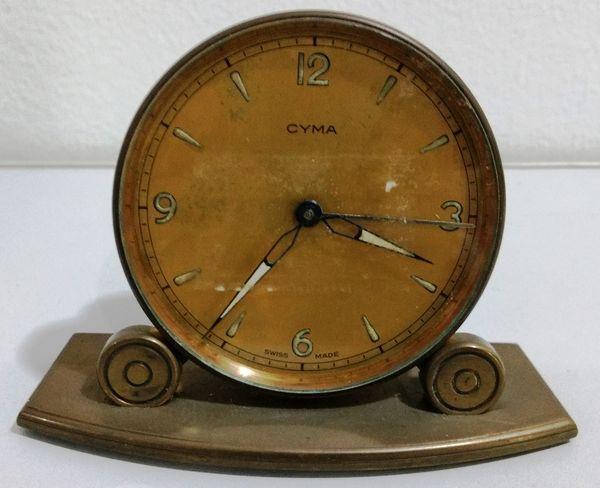 cdcd7231571 Antigo Relógio CYMA - No estado - Precisa de reparos - Suiço