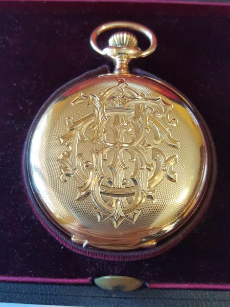 575015f66c6 Peça. Visitas  1818. Tipo  Relógio. ENGENHEIRO FRANCISCO GUTIERREZ BELTRÃO PATEK  PHILIPE CRONOMETRO GONDOLO BELO RELOGIO DE BOLSO ...