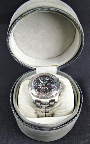 eb56dcee700 BELÍSSIMO Relógio de Pulso Masculino TAG HEUER edição especial Ayrton Senna.  Em PERFEITAS condições
