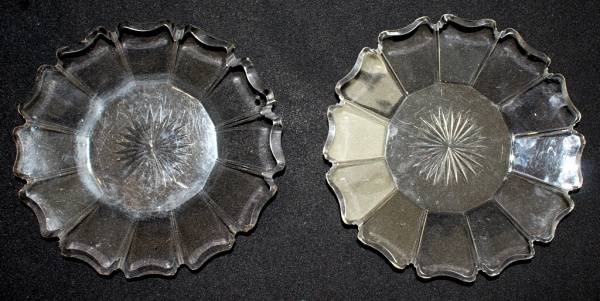 Lote contendo 2 presentoir para compoteira produzidos em cristal Baccarat f427c3fe290