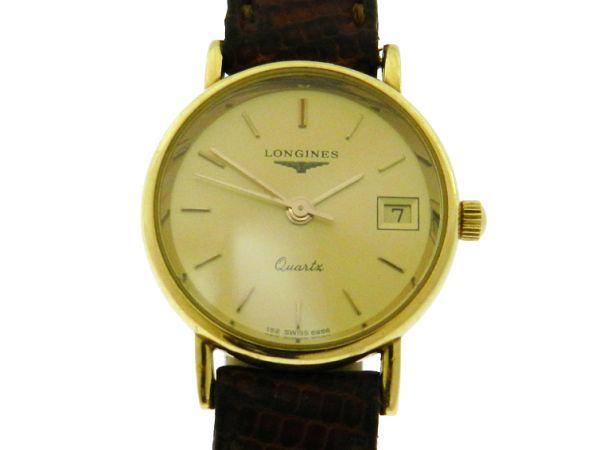 e4fec820fe4 Relógio Longines Classique - Caixa em ouro amarelo 18k 750 - Pulseira em  couro .