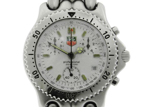 680076370de Relógio Tag Heuer Sport Elegancy Chronograph - Caixa em Aço - Pulseira em  Aço - Tamanho da Caixa 39mm - Funções  Horas