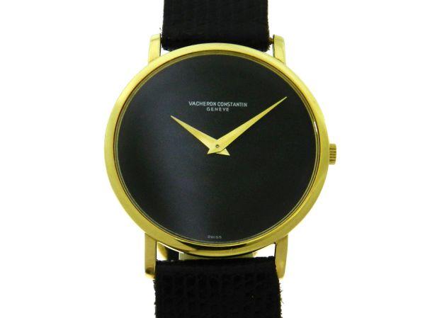 c37dea48328 Relógio Vacheron   Constantin - Vintage - Caixa em ouro amarelo 18k 750 -  Pulseira em couro - Tamanho da caixa  31mm - Funções  Horas e Minutos -  Movimento ...