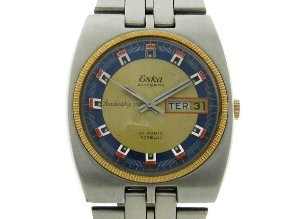 72ad83d26fb Relógio Eska Leadership 3330 - Caixa e pulseira em aço - Tamanho da caixa  36mm -
