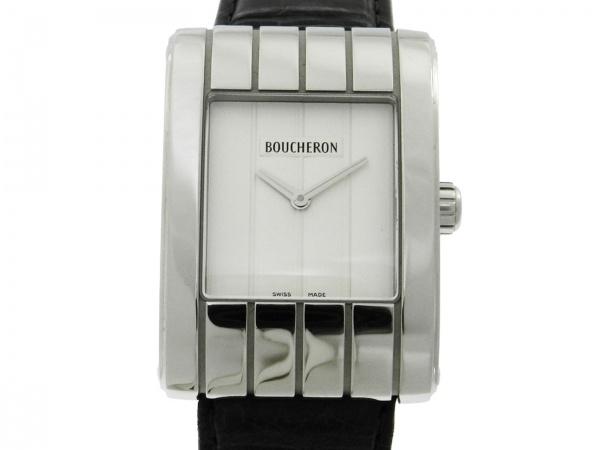 c5aff0b7bc9 Relógio Boucheron Reflet - Caixa em aço e pulseira em Couro - Tamanho Da  Caixa 28mm x 40mm - Funções  Horas e Minutos - Movimento Quartz - Visor em  cristal ...